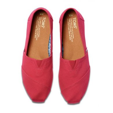 Růžové dámské TOMS Barberry Classic Alpargatas