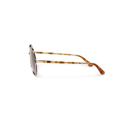 Zlaté sluneční brýle TOMS Blythe Traveler