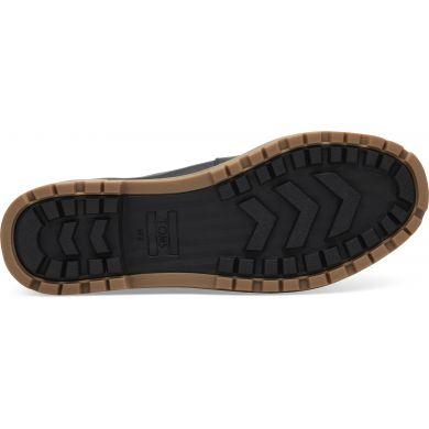 Černé dámské kožené kotníkové boty TOMS Summit
