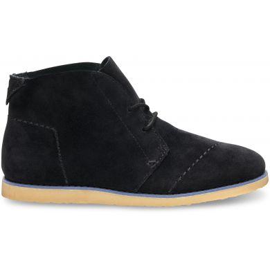 Černé dámské kotníkové boty TOMS Mateo Chukka