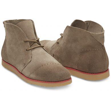 Hnědé dámské kotníkové boty TOMS Mateo Chukka