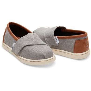 Grey Chambray/Pu Tiny Alpargata