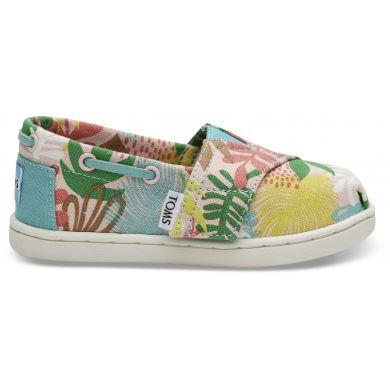 Dětské barevné TOMS Tropical Seasonal Classics Tiny Alpargatas