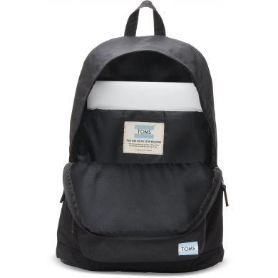 Černý batoh TOMS Local