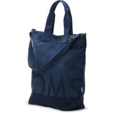 Modrá tote taška TOMS Compass