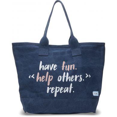 Modrá tote taška TOMS All Day