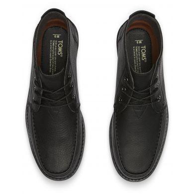 Pánské černé kotníkové boty TOMS Chukka