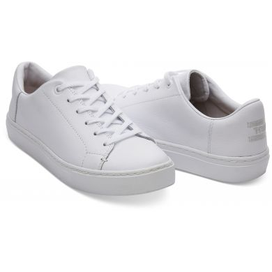 Dámské bílé tenisky TOMS Leather Lenox