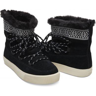 Dámské černé kotníkové boty TOMS Alpine