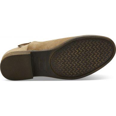 Dámské hnědé kotníkové boty TOMS Deia