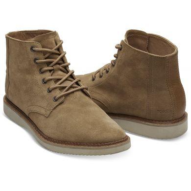 Pánské hnědé kotníkové boty TOMS Porter