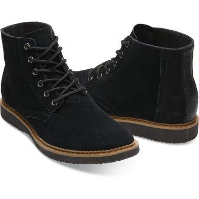 Pánské černé kotníkové boty TOMS Porter