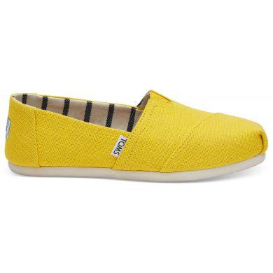 Dámské žluté TOMS Dandelion Venice Collection Alpargatas