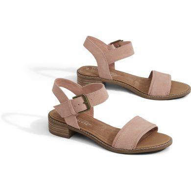 Dámské růžové sandálky TOMS Suede Camilia