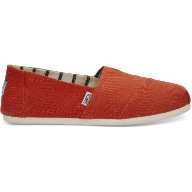 Pánské červené TOMS Orange Venice Collection Alpargatas
