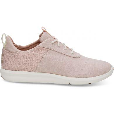 Dámské růžové tenisky TOMS Chambray Cabrillo