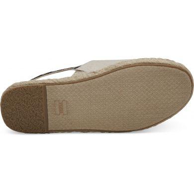 Dámské krémové sandálky TOMS Oxford Clara