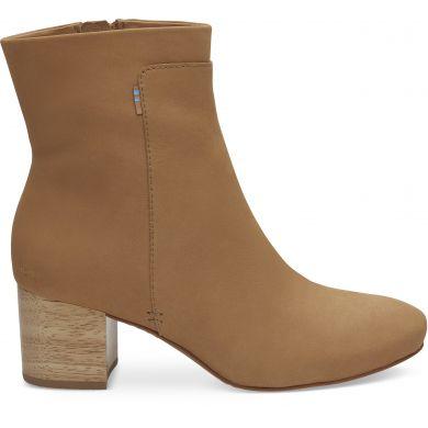 Dámské hnědé kotníkové boty TOMS Evie