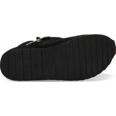 Dámské černé nepromokavé tenisky TOMS Suede Rio