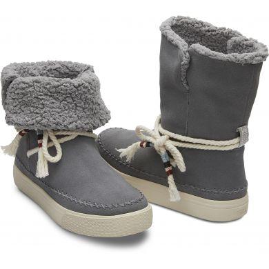 Dámské šedé vysoké boty TOMS Vista