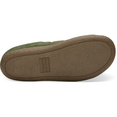Pánské zelené pantofle TOMS Quilted Berkeley