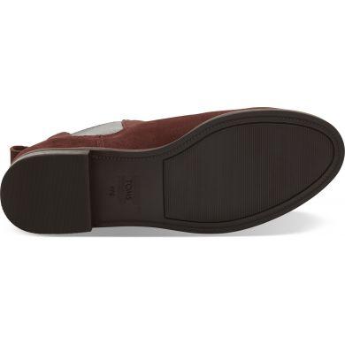 Dámské červenohnědé kotníkové boty TOMS Ella