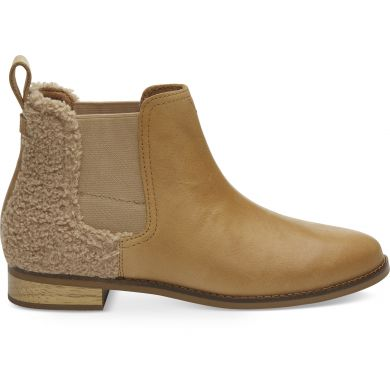 Dámské béžové kotníkové boty TOMS Ella