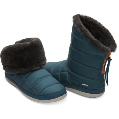 Dámské modré sněhule TOMS Inez