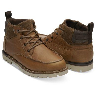 Pánské světle-hnědé kotníkové boty TOMS Hawthorne