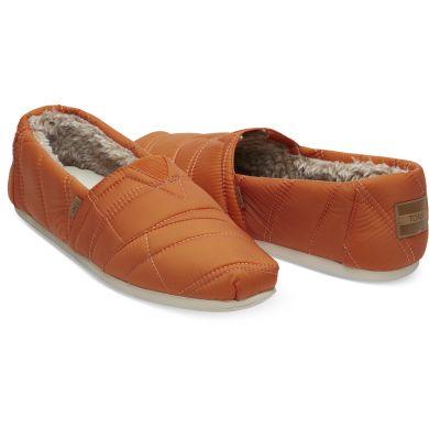 Pánské oranžové TOMS Quilted Venice Collection Alpargata