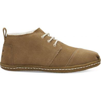 Dámské hnědé kotníkové boty TOMS Bota Venice Collection
