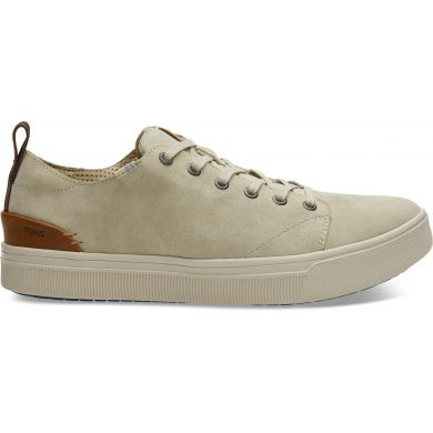 Pánské béžové tenisky TOMS Suede TRVL Lite Low Sneakers