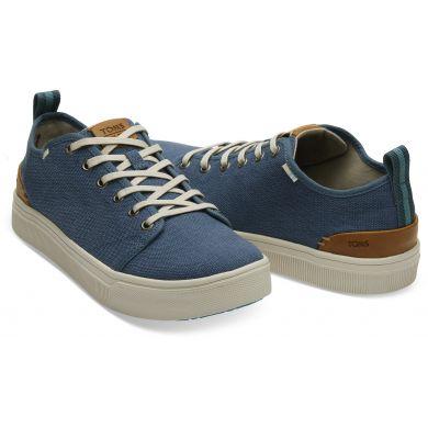 Pánské tmavě modré tenisky TOMS TRVL Lite Low Sneakers