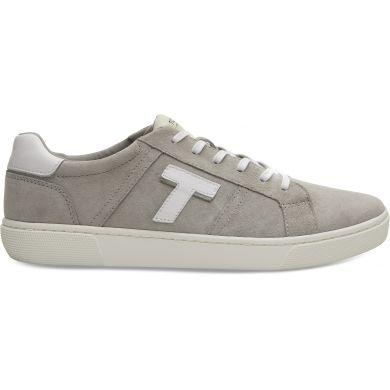 Pánské světle šedé tenisky TOMS Leandro Suede Sneakers
