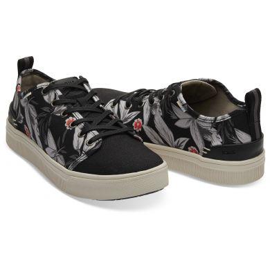 Pánské černé tenisky s potiskem TOMS TRVL Lite Low Sneaker