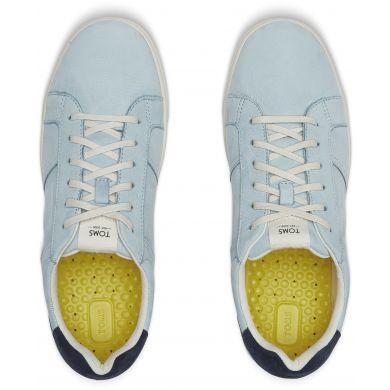 Pánské světle modré tenisky TOMS Leandro Leather Sneakers
