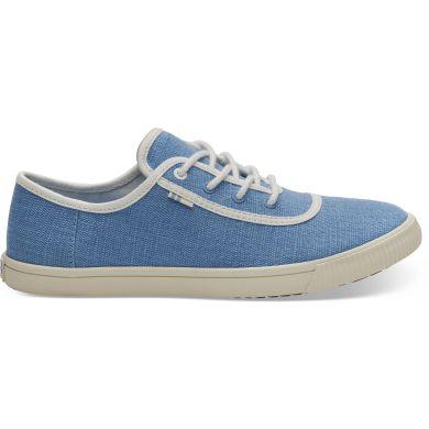 Dámské modré tenisky TOMS Bliss Blue Carmel Sneakers
