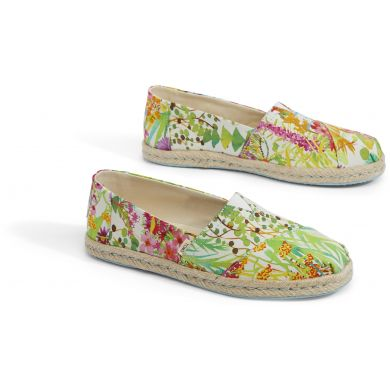 Dámské barevné espadrilky TOMS Sunshine Floral Alpargata
