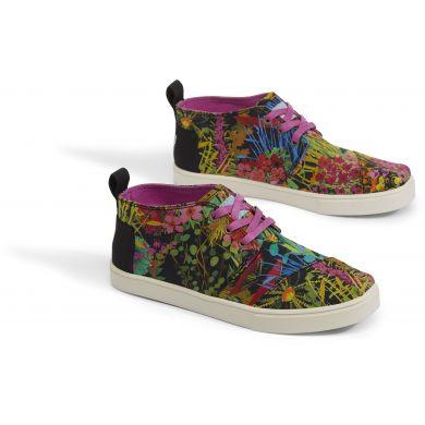 Dámské barevné tenisky TOMS Floral Bota Boots