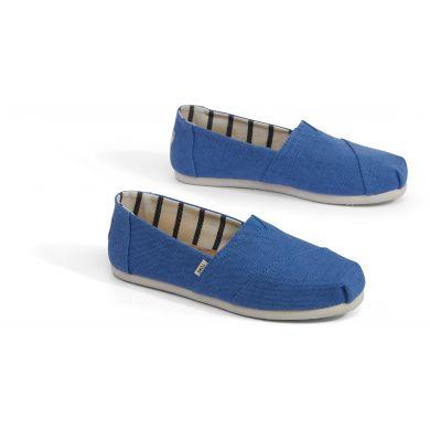 Dámské modré TOMS Heritage Classics Alpargata