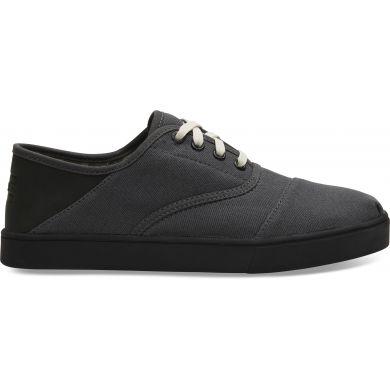 Pánské šedé tenisky TOMS Twill Cordones Sneakers