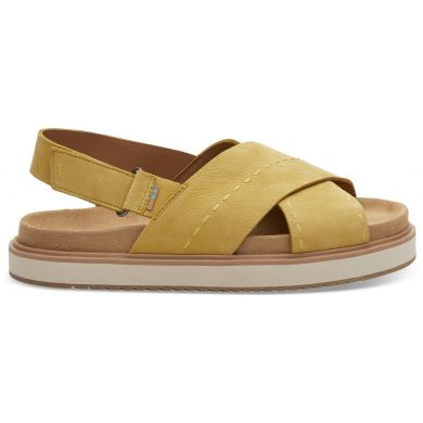 Dámské žluté sandály TOMS Marisa Sandals