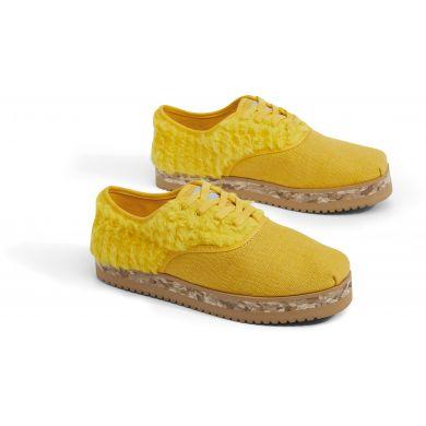 Dámské žluté tenisky TOMS Sesame Street Yellow Big Bird Cordones