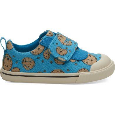 Dětské modré tenisky TOMS Sesame Street Cookie Monster Tiny Doheny Sneakers