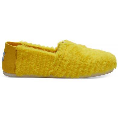 Dámské žluté TOMS Sesame Street Collection Alpargata