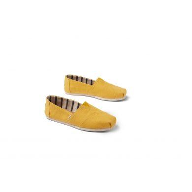 Dámské žluté espadrilky TOMS Heritage Alpargata