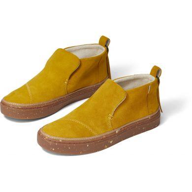 Dámské žluté semišové slip-ony TOMS Paxton