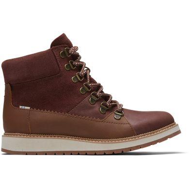 Dámské hnědé nepromokavé kotníkové boty TOMS Mesa