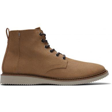 Pánské hnědé semišové kotníkové boty TOMS Porter