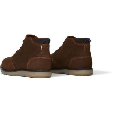Pánské hnědé kožené kotníkové boty TOMS Navi
